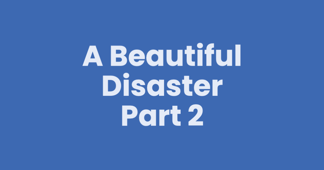 A Beautiful Disaster – Part 2