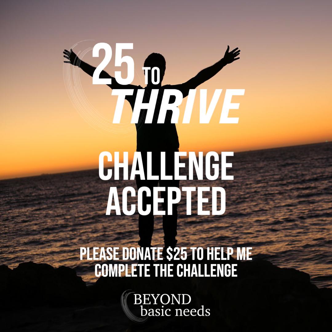 25 to Thrive Challenge Post 2
